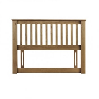 Amsterdam Oak Double Headboard 135cm
