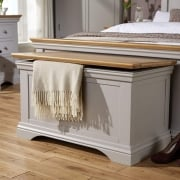 Astbury Painted Oak Blanket Box