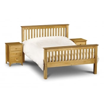 Barcelona Double High Foot End Bed Frame