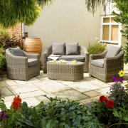 Bunbury Rattan Sofa Set - Natural Weave