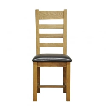 Camberley Ladderback Chair Pu Seat