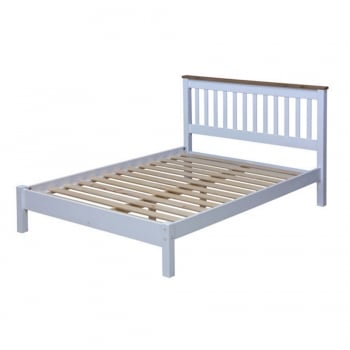 Capri Double Low End Bed Frame
