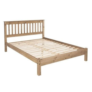 Corona Low End 4'6'' Double Bed