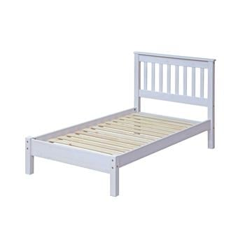 Corona White Single Bedframe