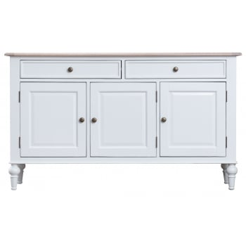 De Mont Oak 3 Door Sideboard
