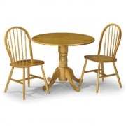 Dundee Table and Two Windsor Chairs