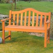 Hardwood 2 Seater Bench