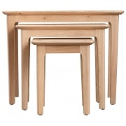 Holmstad Oak Nest of 3 Tables