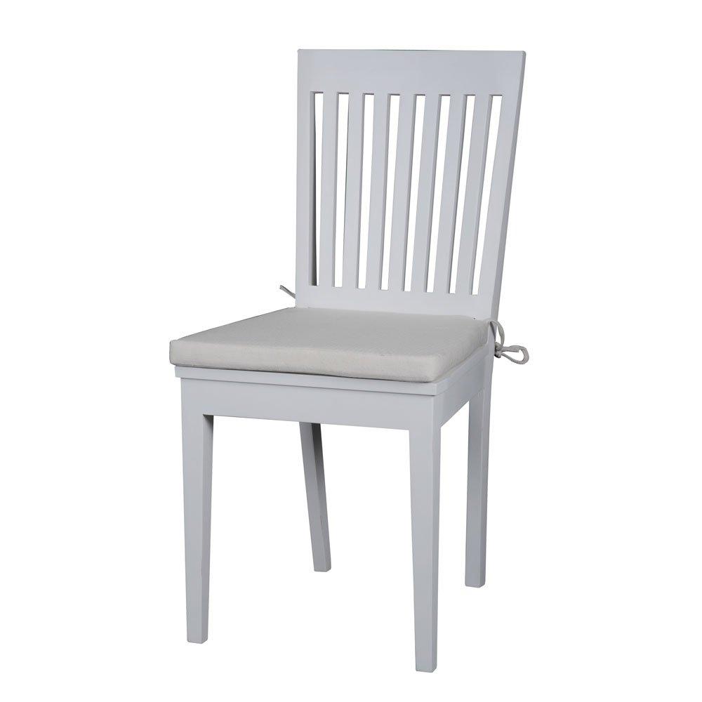 slat back chairs. Knightsbridge Painted Slatback Dining Chairs With Cushion X 2 Slat Back