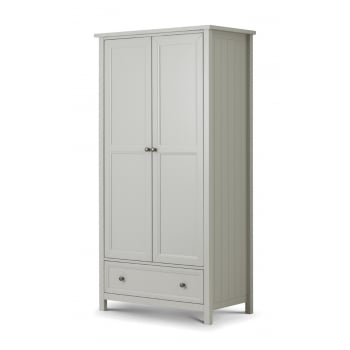 Maine Two Door Combination Wardrobe