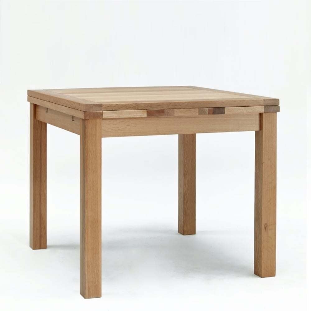 Sherwood Oak Small Drawleaf Table The Furniture House