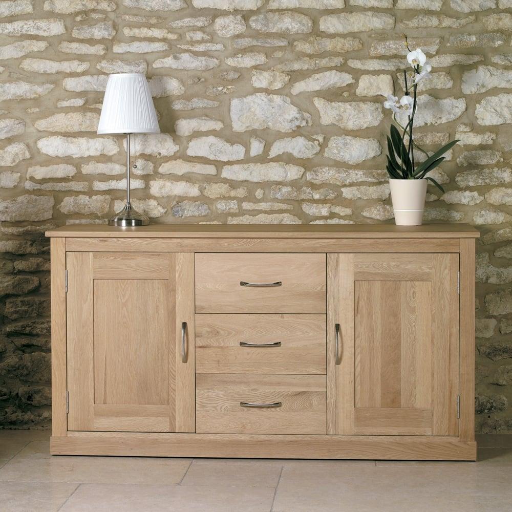 mobel oak large sideboard