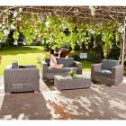 Monte Carlo 4 Seater Sofa Set