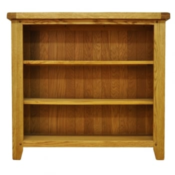 Newmarket Small Wide Bookcase