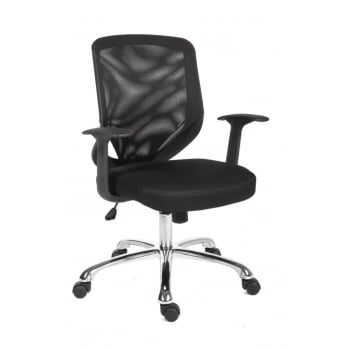 Nova Mesh Black Office Chair