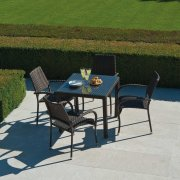 Ocean Fiji Square 4 Seater Dining Set
