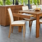 Olten Dark Oak Dining Chairs ( Pack of 2 )