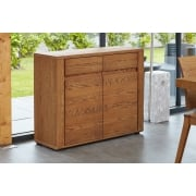 Olten Dark Oak Small Sideboard