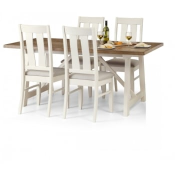 Pembroke Dining Table and 4 Chairs