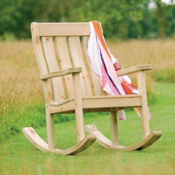 Pine Farmers Rocking Chair