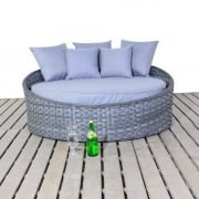 Platinum Grey Small Daybed