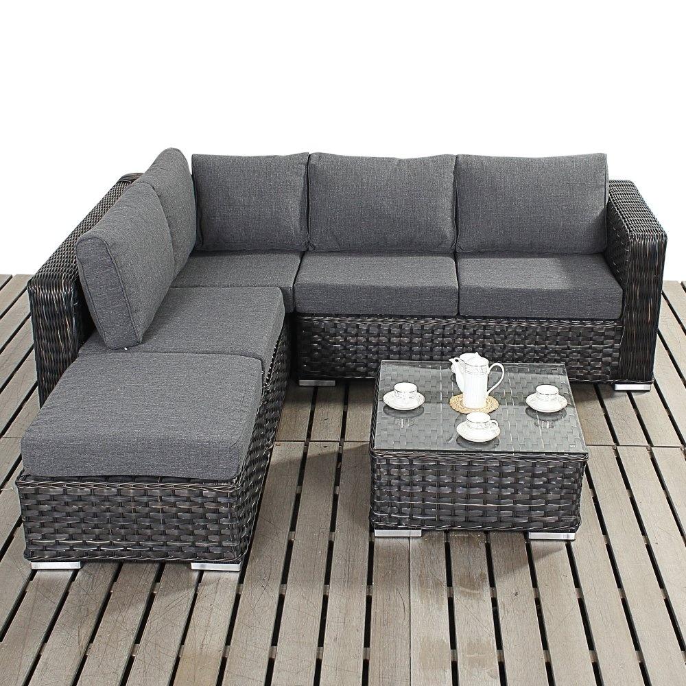 Port Royal Platinum Small Corner Sofa Set The Furniture