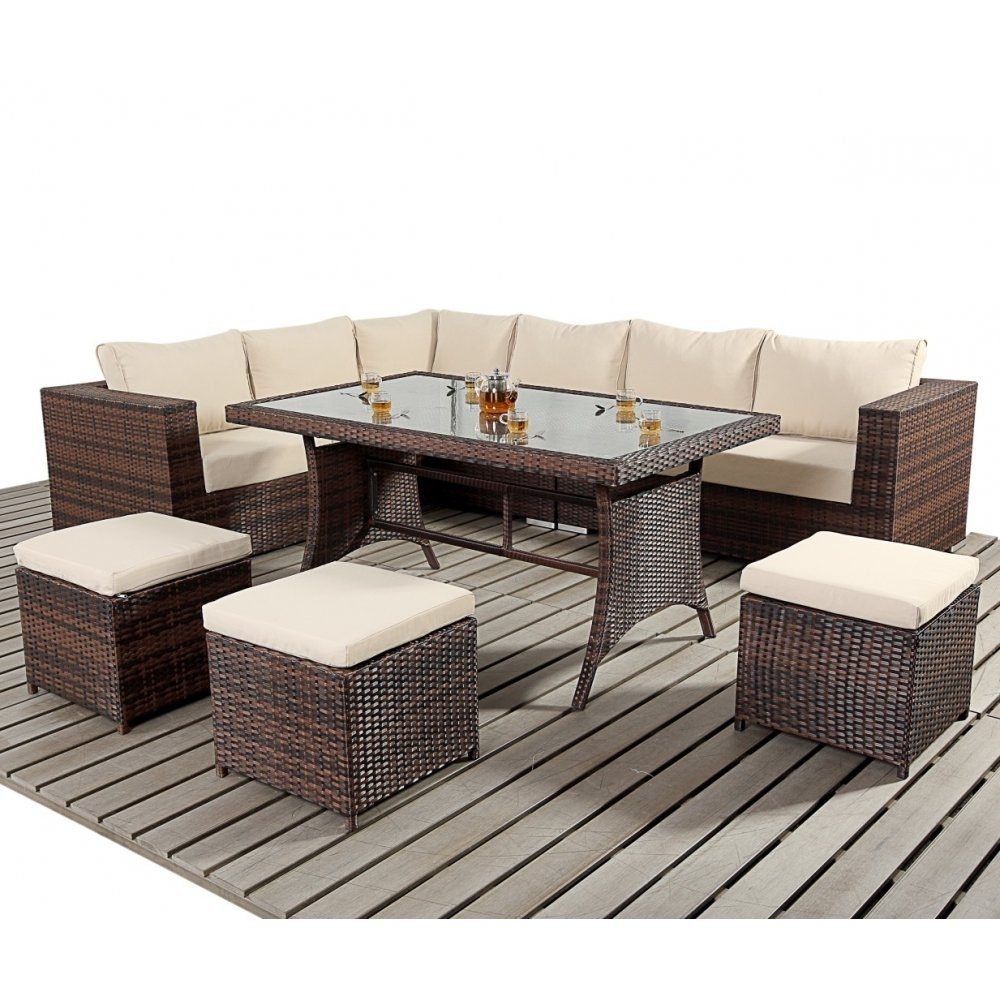 For Patio Furniture Furthermore Garden White Rattan Table