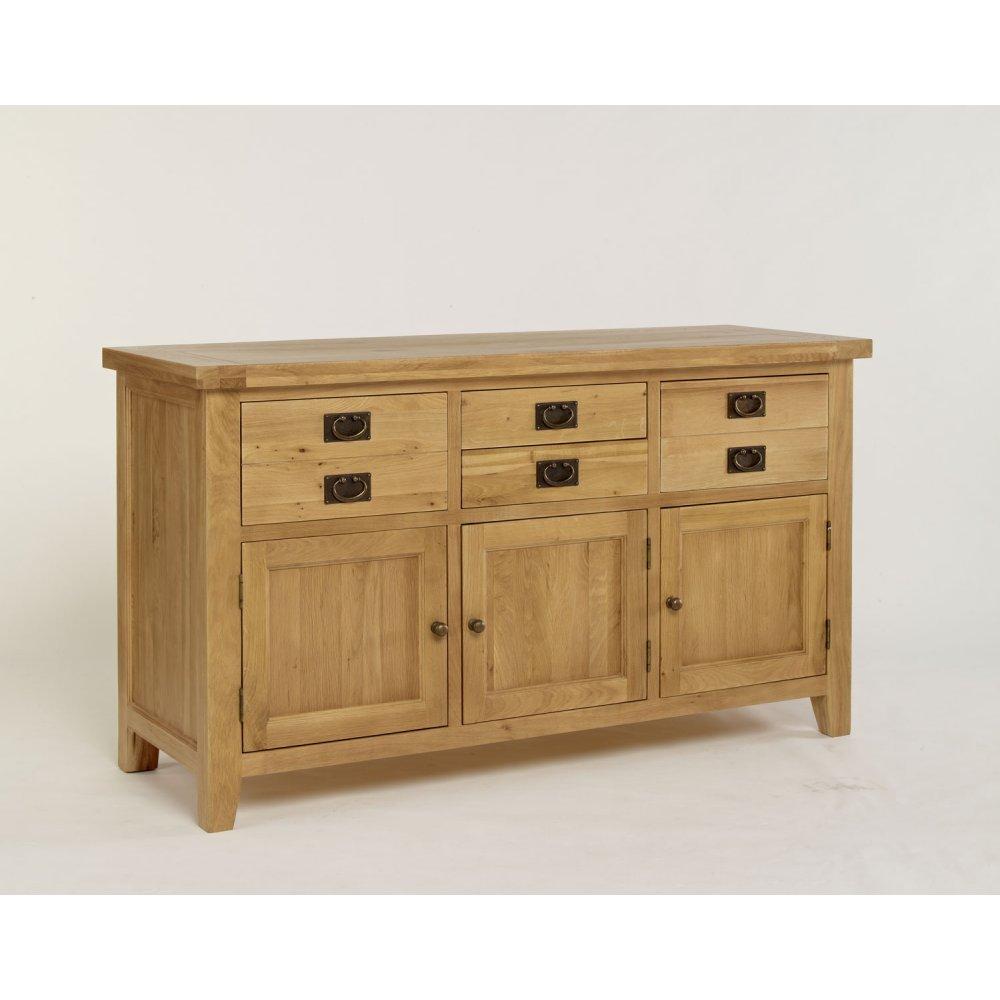 Provence Oak 3 Door Dresser Base (BASE ONLY) ...