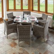 Richmond Rattan Dining Set