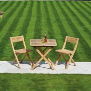 Roble Tea For Two Folding Bistro Set