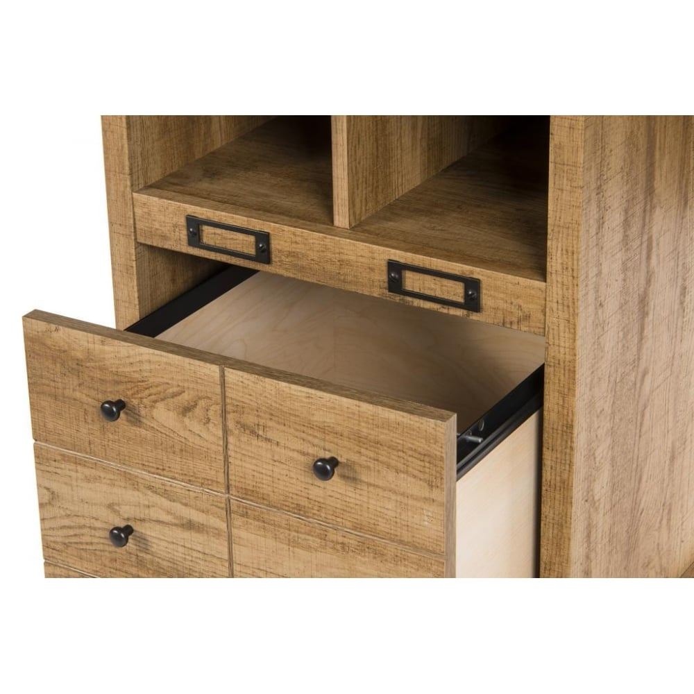 scribed oak effect home dressing table scribed oak effect desk with multiple drawers the furniture house