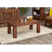 Shiro Walnut Medium Open Coffee Table