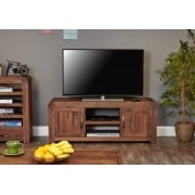 Shiro Walnut Widescreen Television Cabinet
