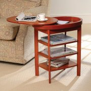 Swivel Top Side Table