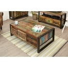 Urban Chic 4 Door 4 Drawer Large Coffee Table