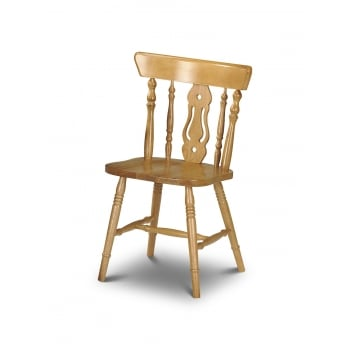 Yorkshire Fiddleback Pine Chair